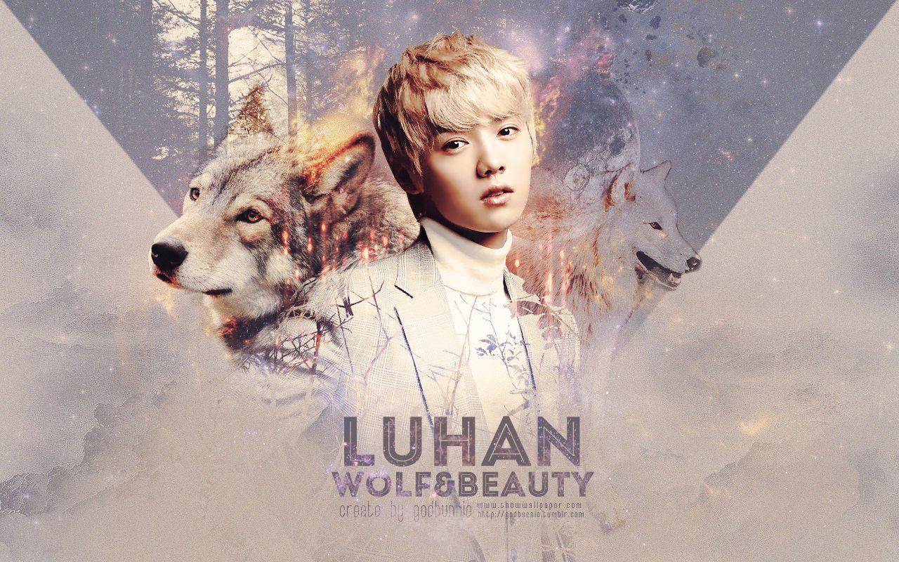 Exo Luhan Cute Werewolf Images Jpg 1280 800 Artis Selebriti