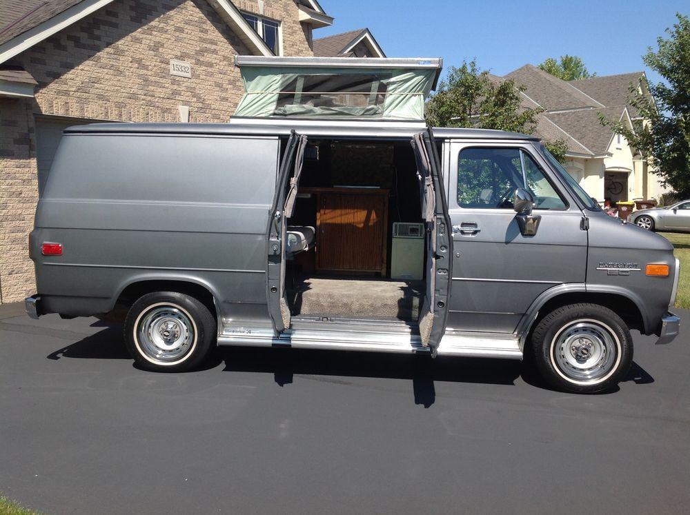 1994 Chevrolet G20 Van Conversion Emerald Edition For Sale In Cuyahoga Falls Ohio Gmc Vans Chevy Van Chevrolet Van