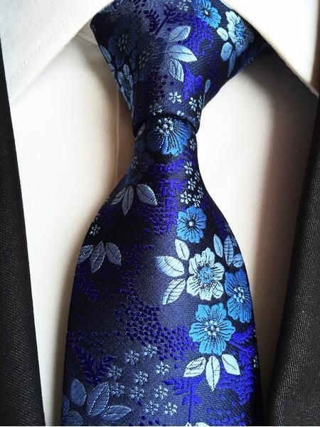 100/% Silk Mans Floral Paisley TIE+BOW Formal Business Wedding Party