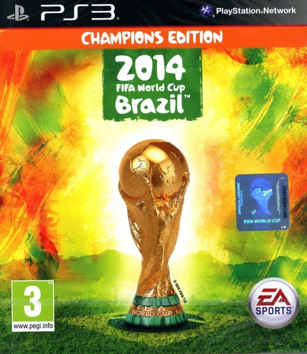 PLAYSTATION 3 NEW SEALED GAME  FIFA WORLD CUP 2014 CHAMPIONS EDITION  PS3  https://t.co/r7vTjrg2hk https://t.co/enpb7diEfM