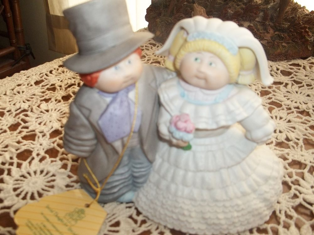 Cabbage Patch Wedding Bride and Groom Figurine