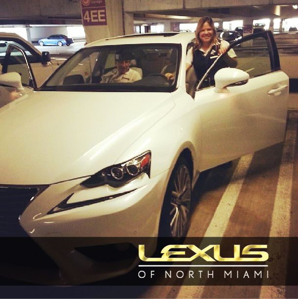 Congrats To Norma And Her New #LexusIS 250. Welcome To The