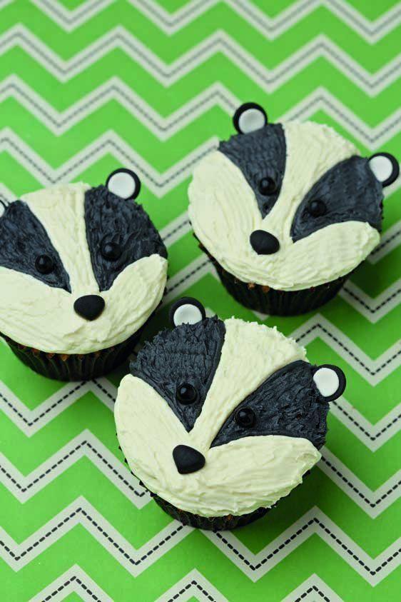 Badger Cupcakes Google Search Food Cupcake Cakes