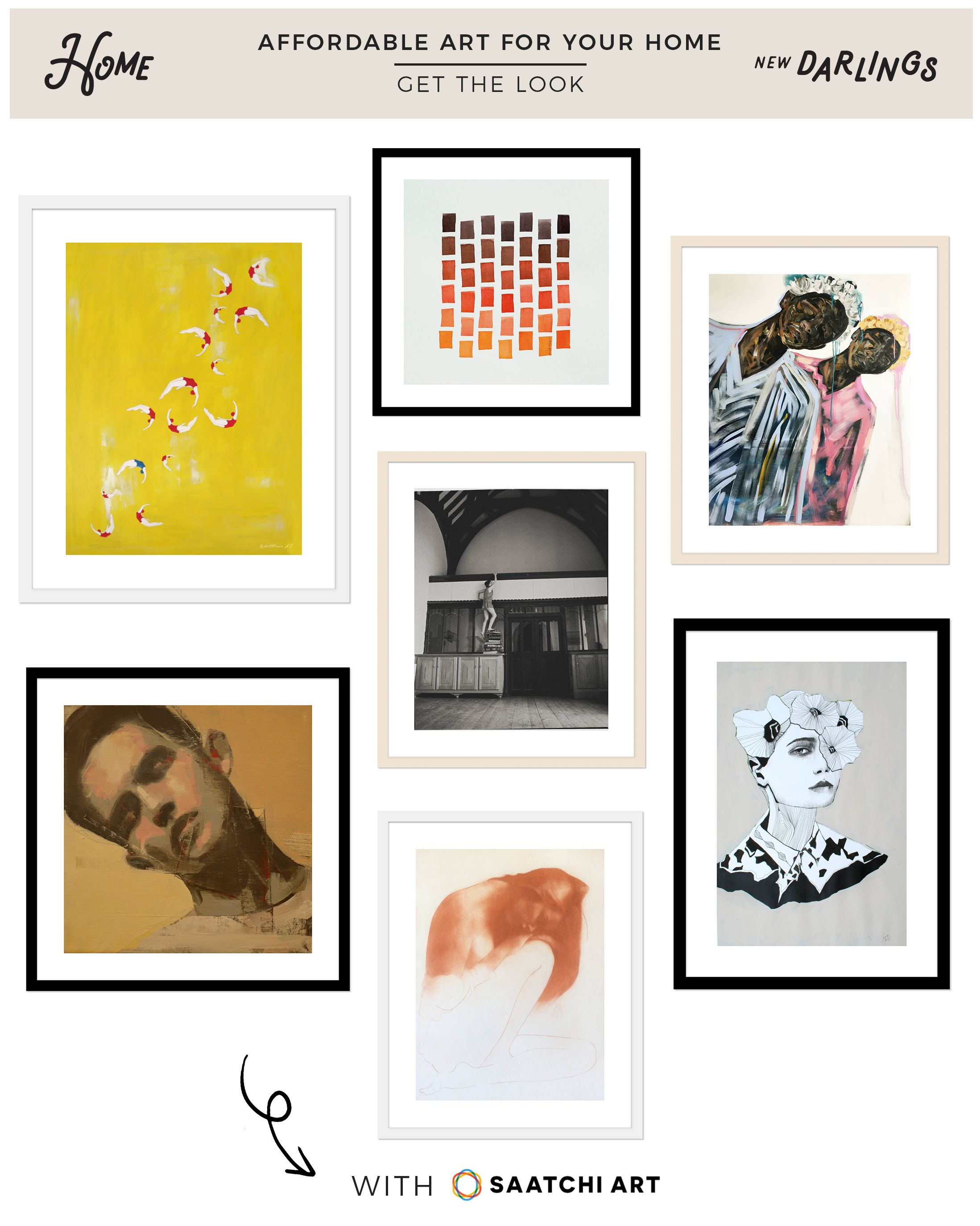 by Saatchi Art: Our 10 x 10 Curated Collection