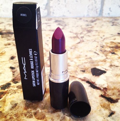 mac lipstick rebel berry for fall beauty products. Black Bedroom Furniture Sets. Home Design Ideas