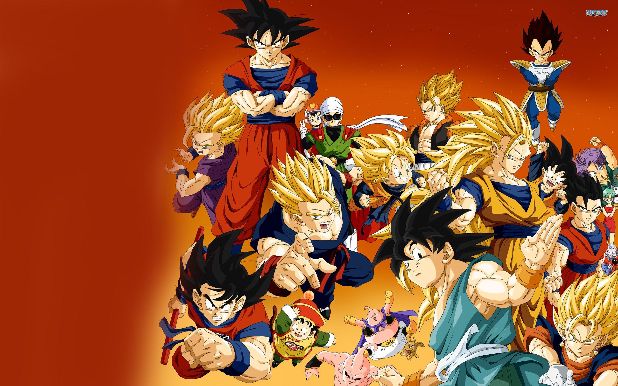 Dragon Ball Z Wallpapers Hd Goku Free Download Dragon Ball