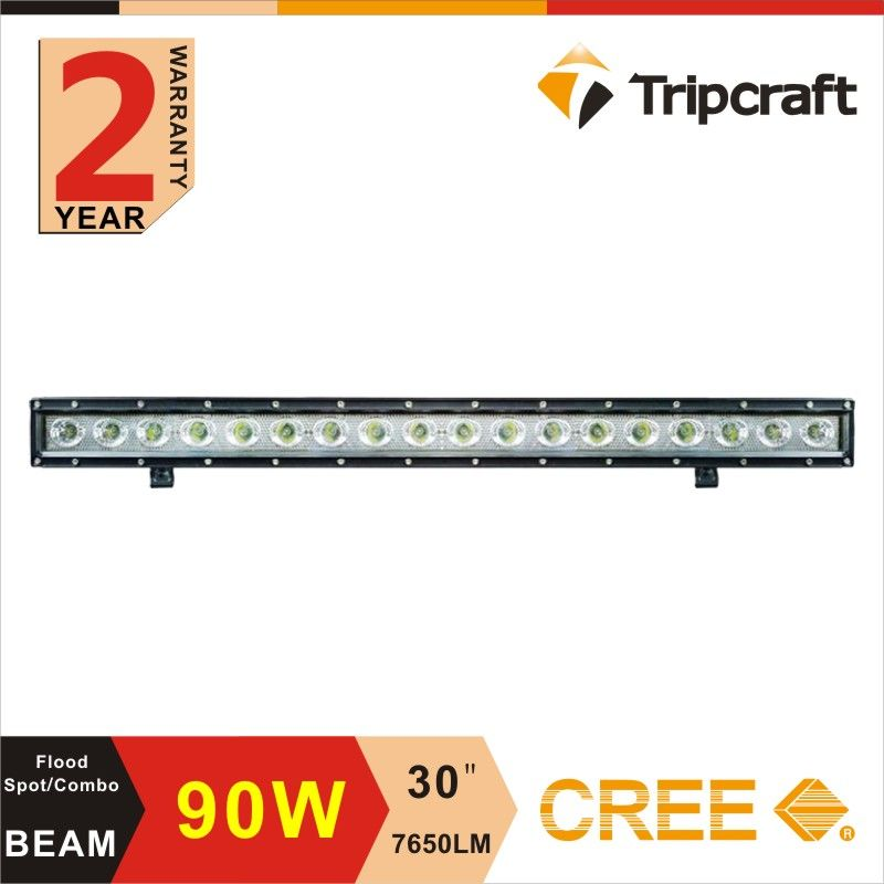 Free Shipping 30 Inch 90w 12v Led Bar 24v Offroad Work Light Bar With Pc Lens Off Road Led Lights Offroad Led Led Light Bars