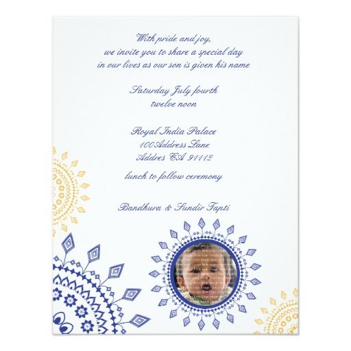 Namkaran Baby Naming Invitations Zazzle Aadhya Pinterest Babies - naming ceremony invitation