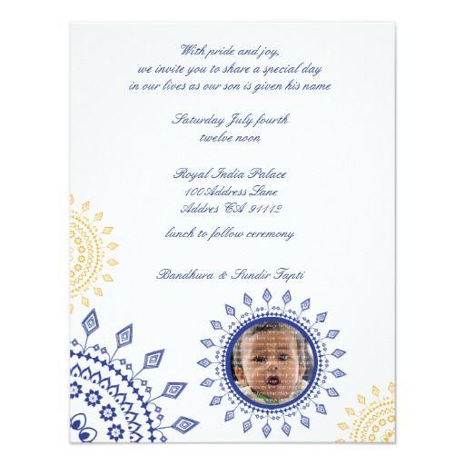 Namkaran Baby Naming Invitations Zazzle  Aadhya    Babies