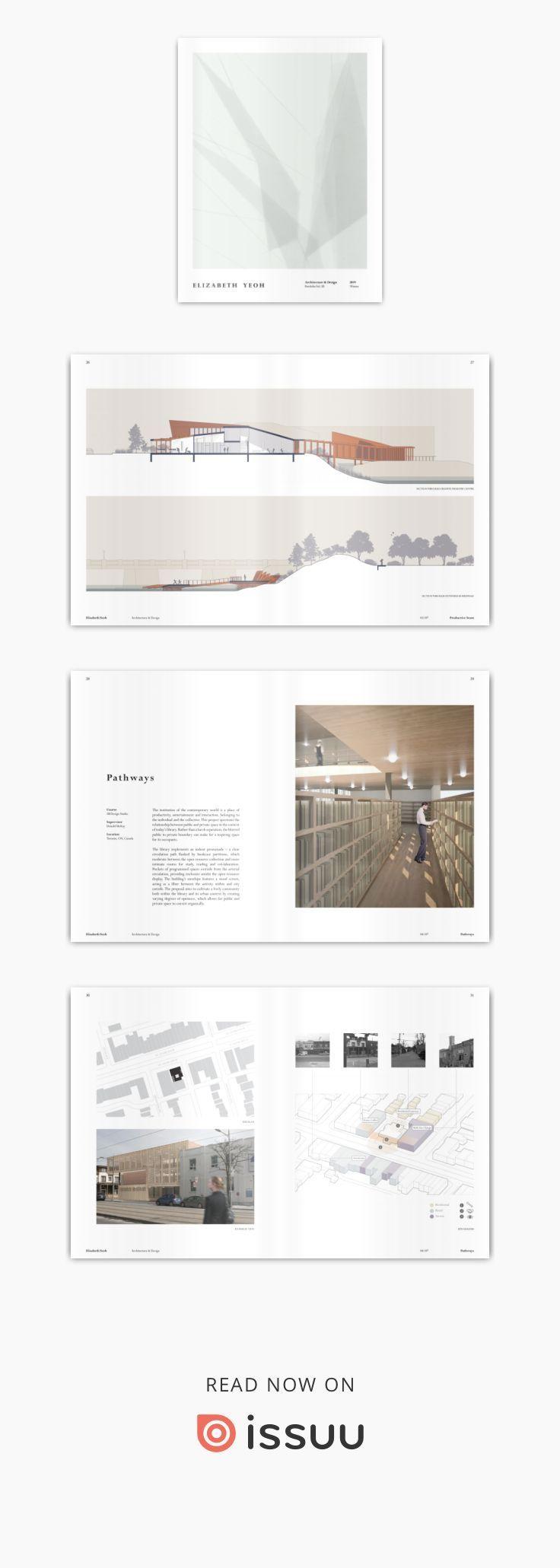 Elizabeth Yeoh   Architecture portfolio design, Architecture ...