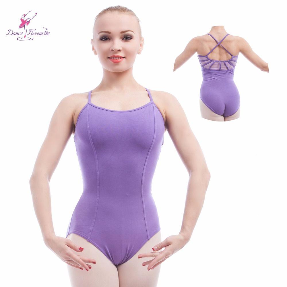 Women Adult Leotard Dance Gymnastics Ballet Sleeveless Leotards Dancewear Dress