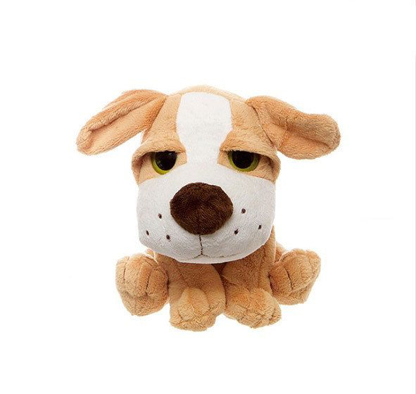 Title: Puppy Dog stuffed animal comical - William Size: Measures 8 inch / 20cm high  Price: AUS$ 15.95 Brand : Teddy Time  Lots more items like this available at: www.stuffedwithplushtoys.com 100 Day Returns |Fast Trackable Shipping|Amazing Service