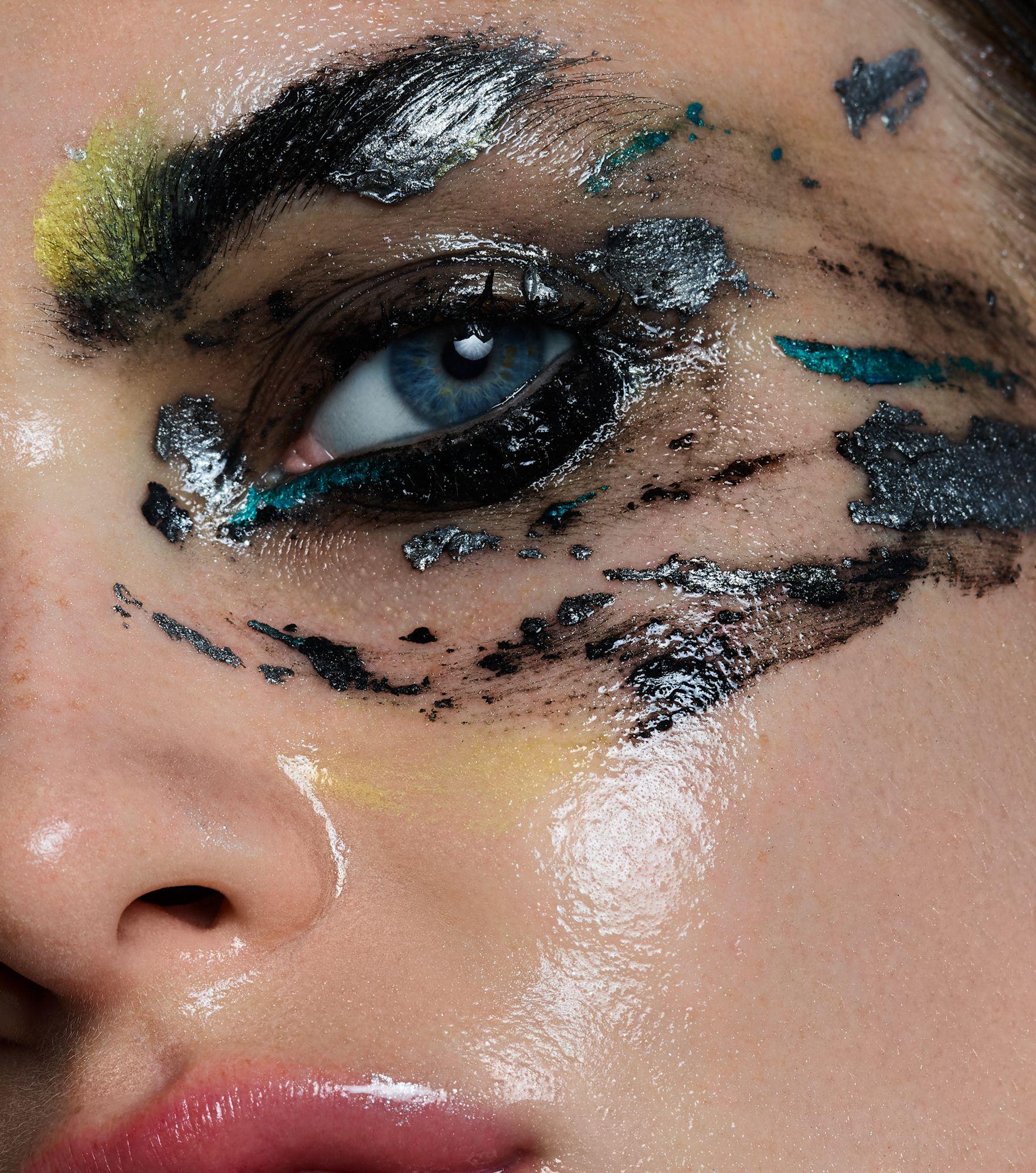 Beauty story Anita Sadowska before and after on