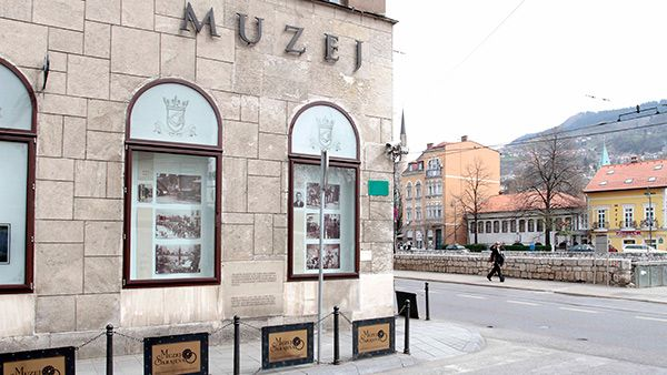 The Sarajevo assassination - this is where Franz Ferdinand of Austria and his wife were murdered in 1914; the event triggered the first world war