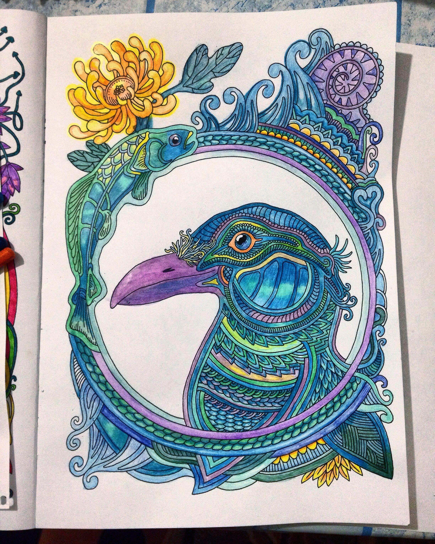 #ветеруноситцветы #миф_раскраски #coloringbook | Artwork ...
