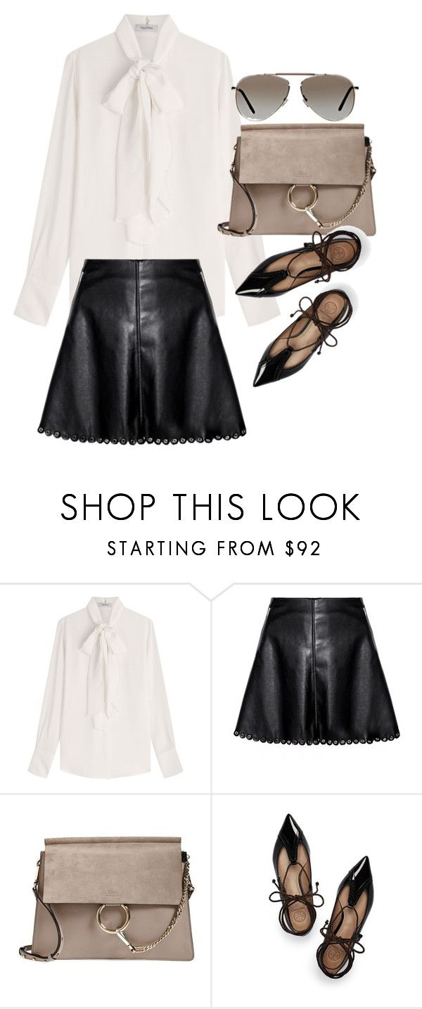 """Untitled #19693"" by florencia95 ❤ liked on Polyvore featuring Valentino, Chloé, Tory Burch and Tom Ford"