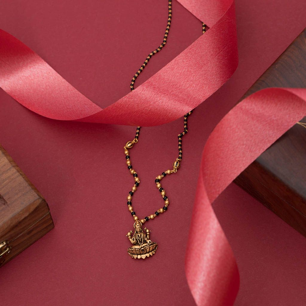 Buy 22k Antique Mangalsutra For Women At Jewelegance