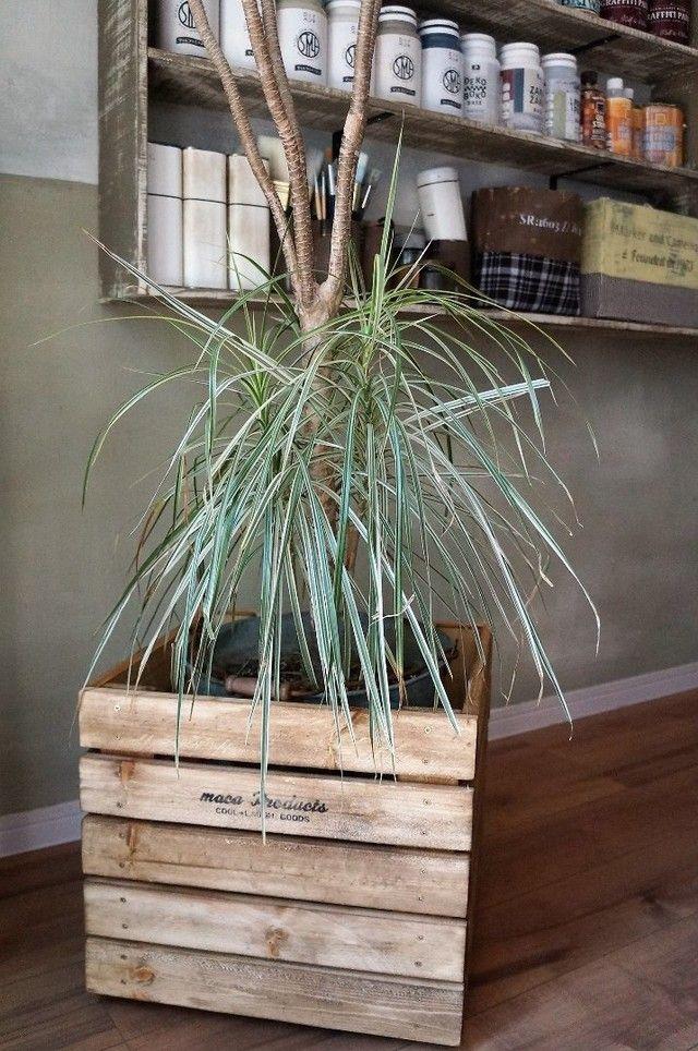 Photo of 見えそうで見えないキャスターつきの鉢カバーをホームセンターの安い木材でDIY