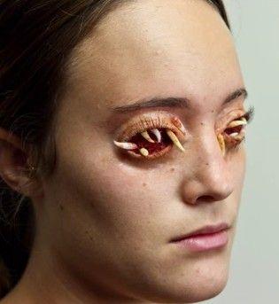 Maggot Eyes - Zombie Makeup Tutorial | halloween makeup & costumes ...