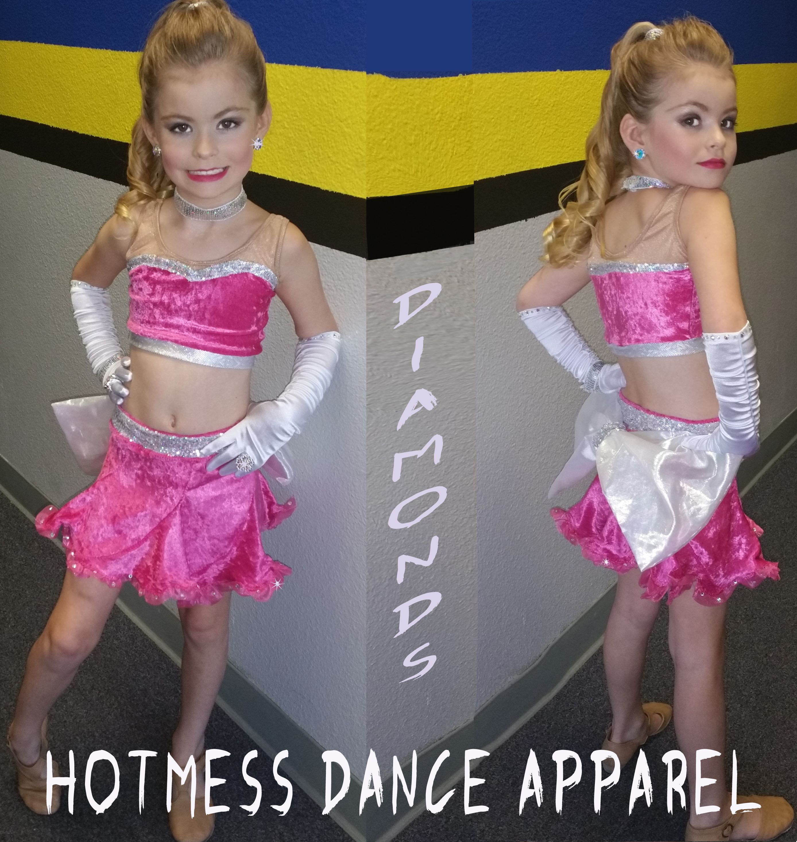 Rhinestones Are A Girl's Best Friend!  Need a great solo outfit? Give us a call: (951) 268-4452
