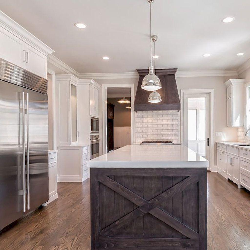 Finest Barnwood Kitchen Island Concepts Home to Z   White quartz ...