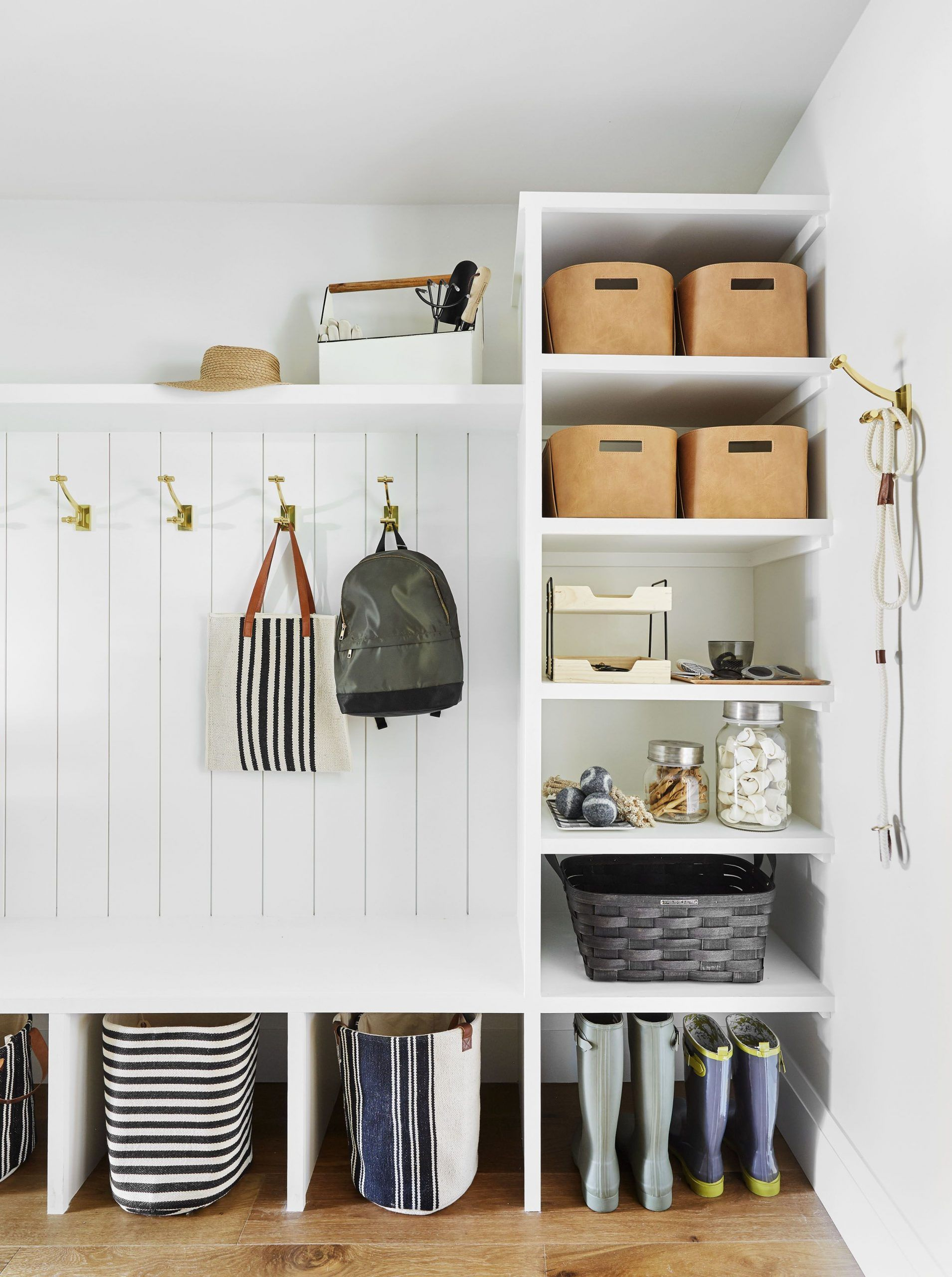 8 steps to building a smart organized pantry mudroom