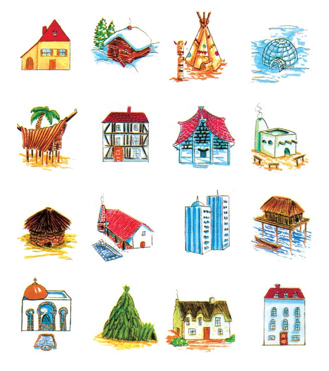 Les differentes habitations dans le monde ann e 2017 for Les habitations dans le monde