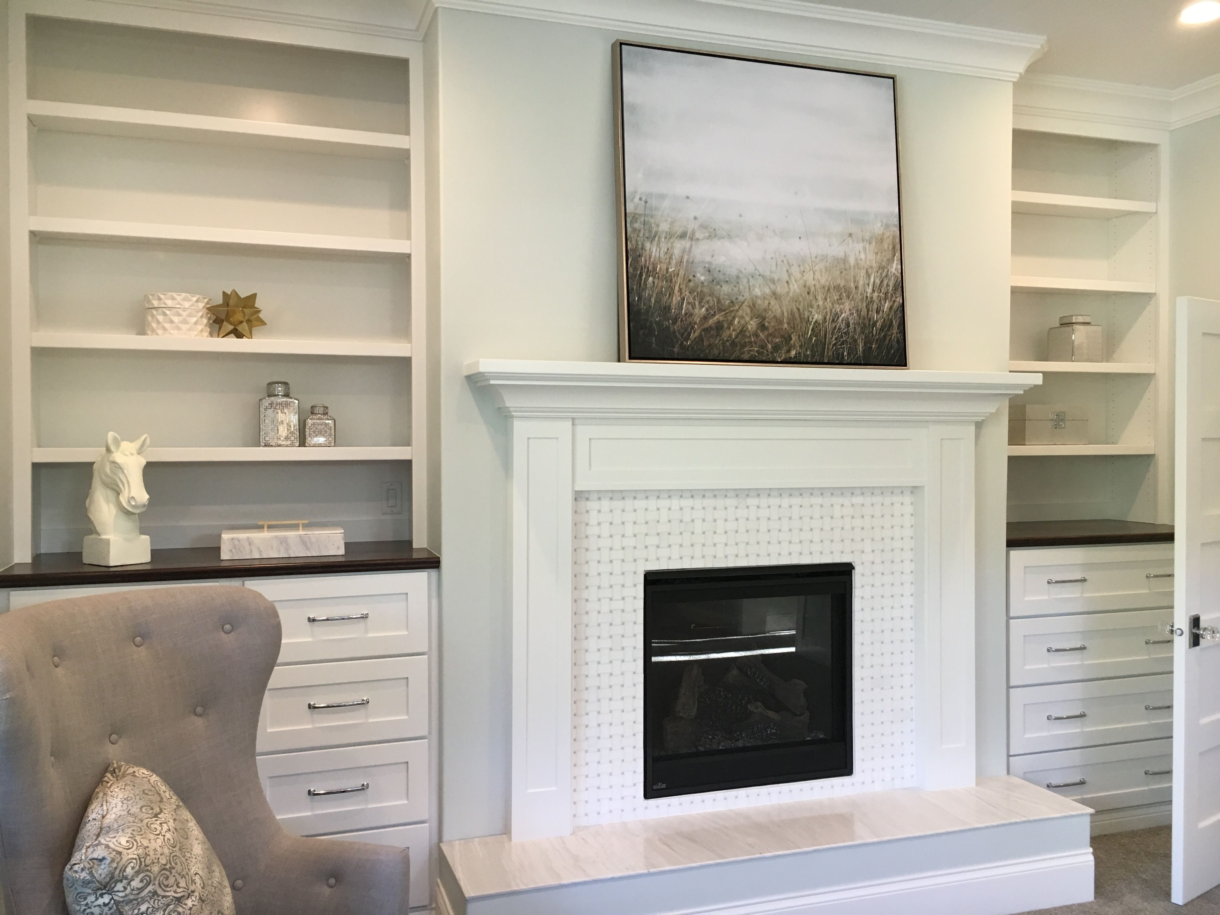 tall cabinets fireplace built in bookcases fireplace in 2019 rh pinterest com tall cabinets next to fireplace Tall Fireplace Ideas