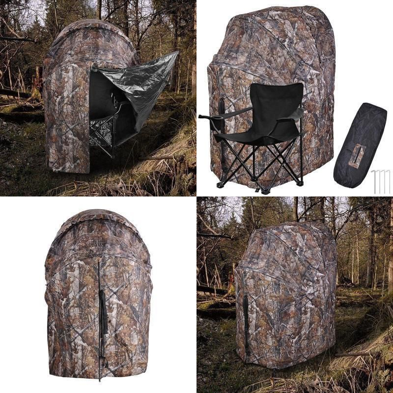 Deluxe Turkey Hunting Chair Blind Gear Deer Woods Camouflage Turkey Camping Tent Hunting Deer Hunting Tips Hunting Blinds