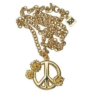 Peace Blossom Necklace now featured on Fab.