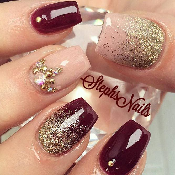 45 Newest Burgundy Nails Designs You Should Definitely Try In 2020