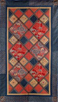 www.designbyaika.com images gallery quilts_wall Chrysanthemum_red.jpg