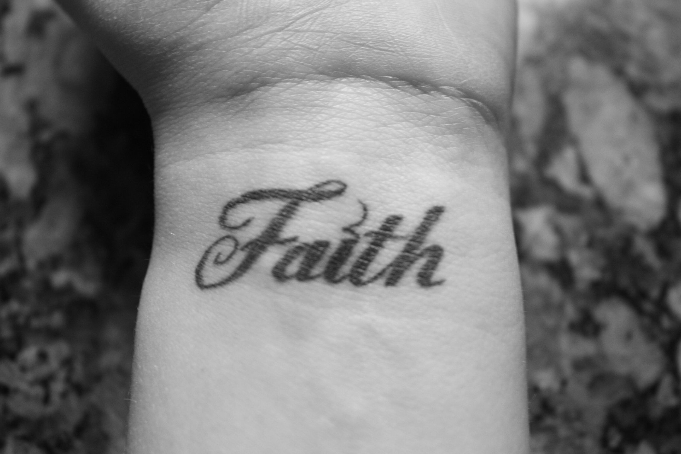 Faith, wrist tattoo on TattooChief.com | Wrist tattoos ...