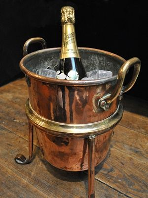 Pin By Shannon Knox On For The Home Champagne Buckets Vintage Champagne Wine Bucket