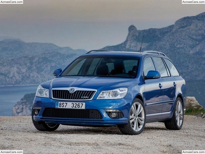 Skoda Octavia Rs Combi 2010 Sports Wagon Top Cars Car