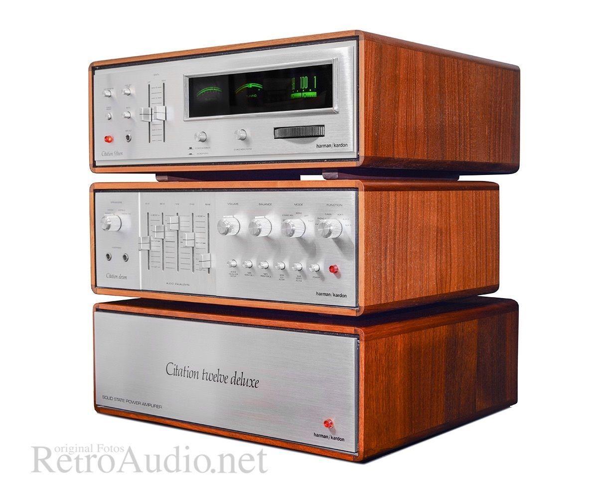 Harman Kardon Citation Fifteen Eleven Twelve High Fidelity Amplificador