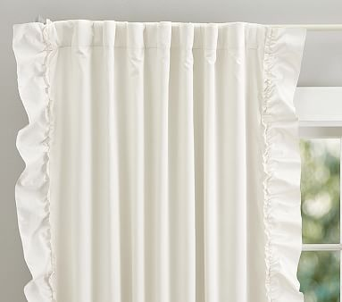 Lucy Velvet Blackout Curtain Blackout Panels Pottery