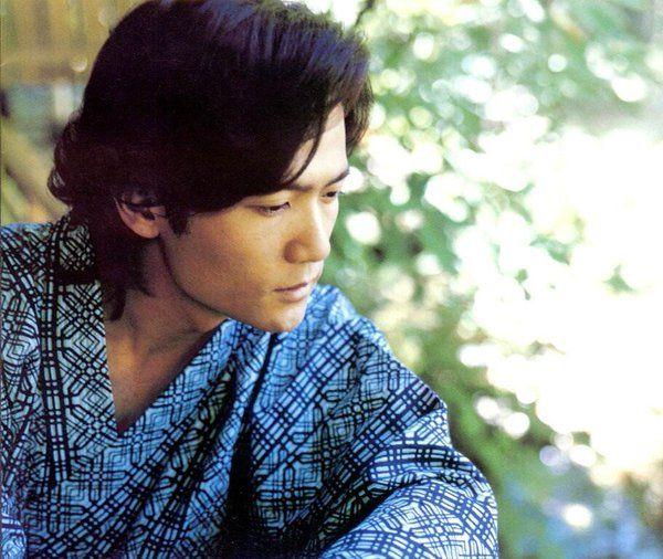 浴衣の稲垣吾郎