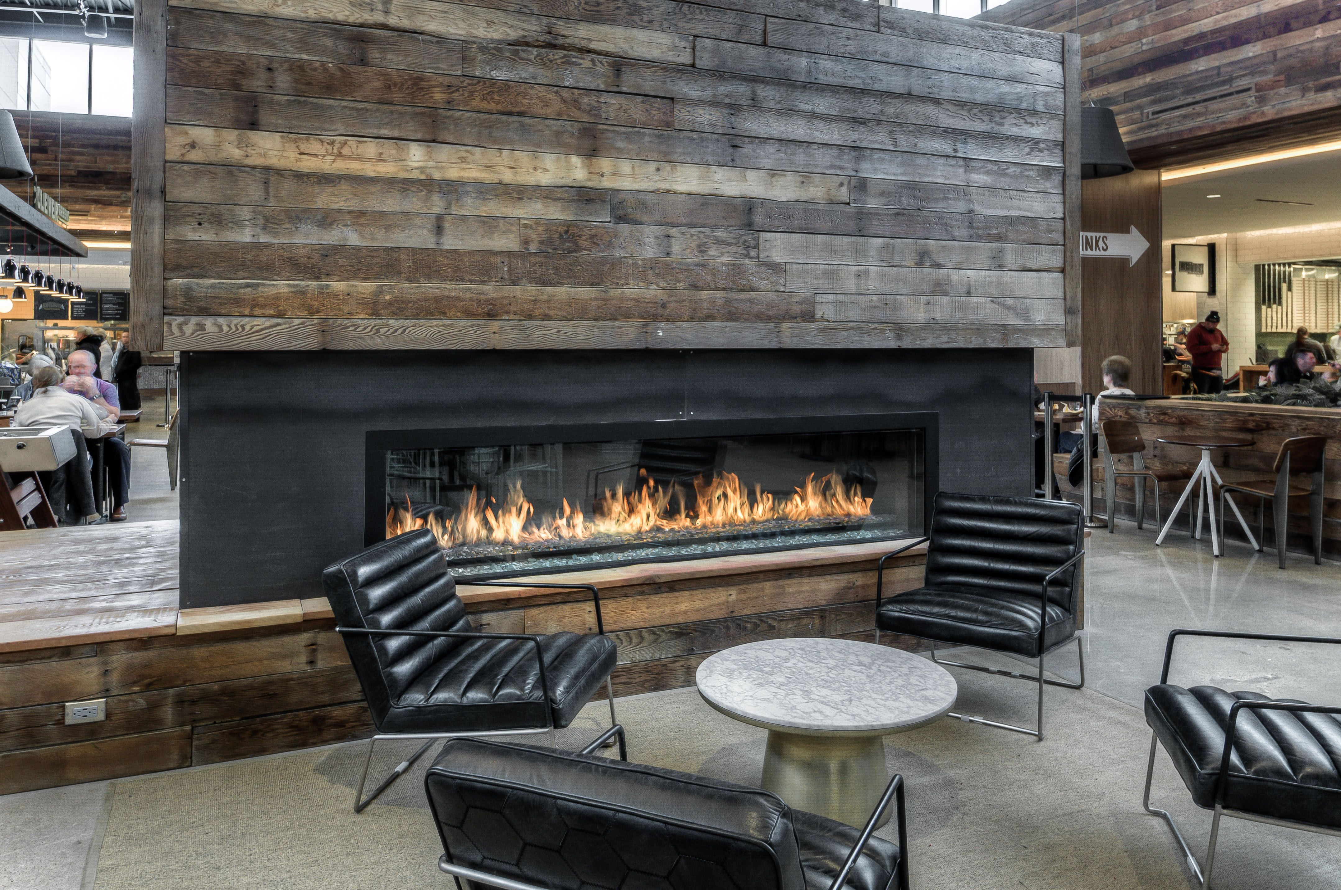 Pin By Fireplace Stone Patio On Modern Fireplaces Linear Fireplaces And Inserts With Images Linear Fireplace Fireplace Modern Fireplace