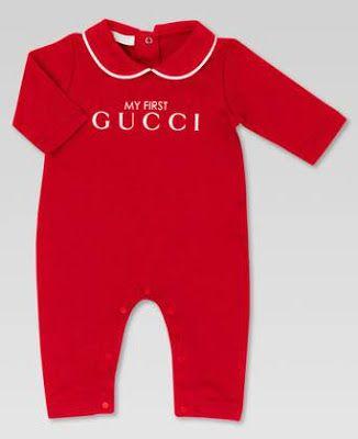 4602d1c34 Designer Baby: Gucci Baby Pajamas: A Fun Christmas Gift! | DESIGNER ...
