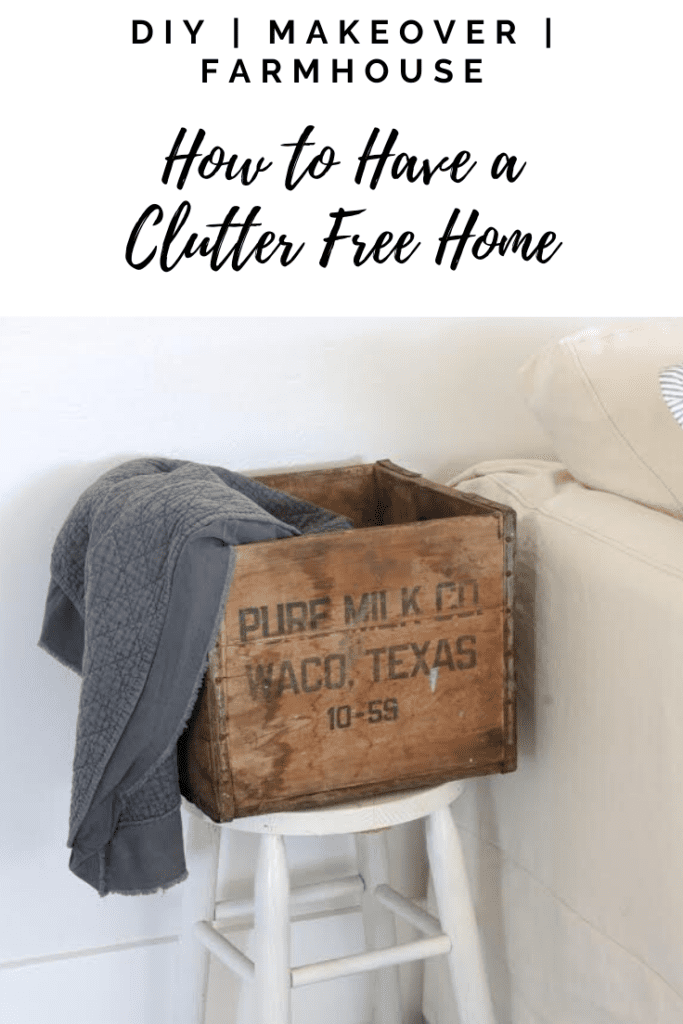 If you've wanting to organize your home and get rid of clutter, I am sharing the top few items you need to get rid of to start that process. #clutterfree #minimaldecor #minimalist #organize #organizedhome
