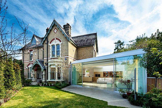 Frameless Glass Extension Homebuilding \ Renovating Glazing