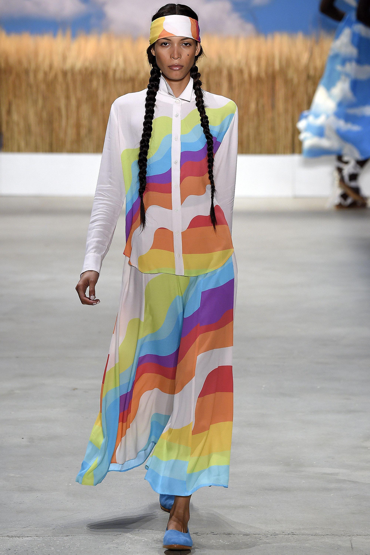 Mara Hoffman Spring 2016 Ready-to-Wear Collection, NYFW Recap, Fashion, New York Fashion Week, Graphics, Bold, Runway, h-a-l-e.com