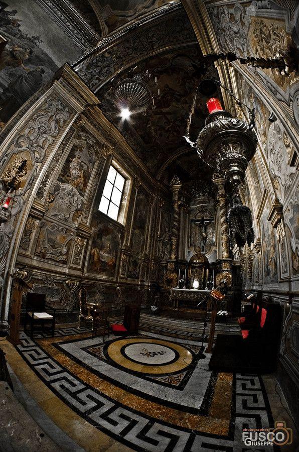 Basilica Collegiata di San Sebastiano, Acireale Catania Italy
