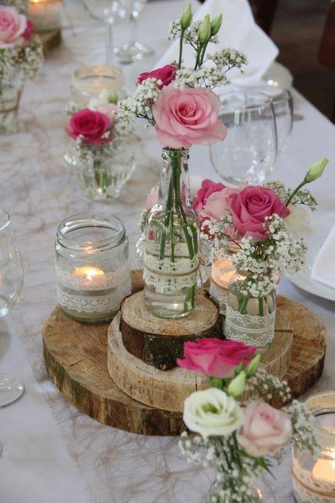 Blumendeko Hochzeit April