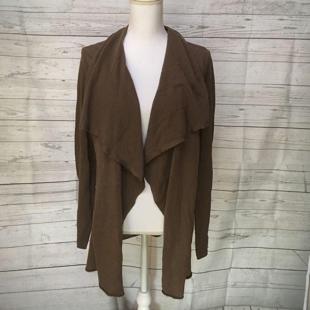 NWT Gap women lightweight brown open knit cardigan sweater sz XL ...