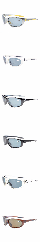 5396f823dab TH6145PGSG Eyekepper Polycarbonate Polarized Bifocal Sport Sunglasses For Men  Women TR90 Unbreakable +1.50 +2.0 +2.5
