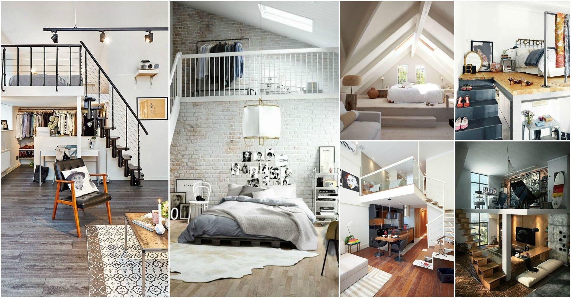 Loft Apartment Bedroom Ideas Loft Bedroom Decor College