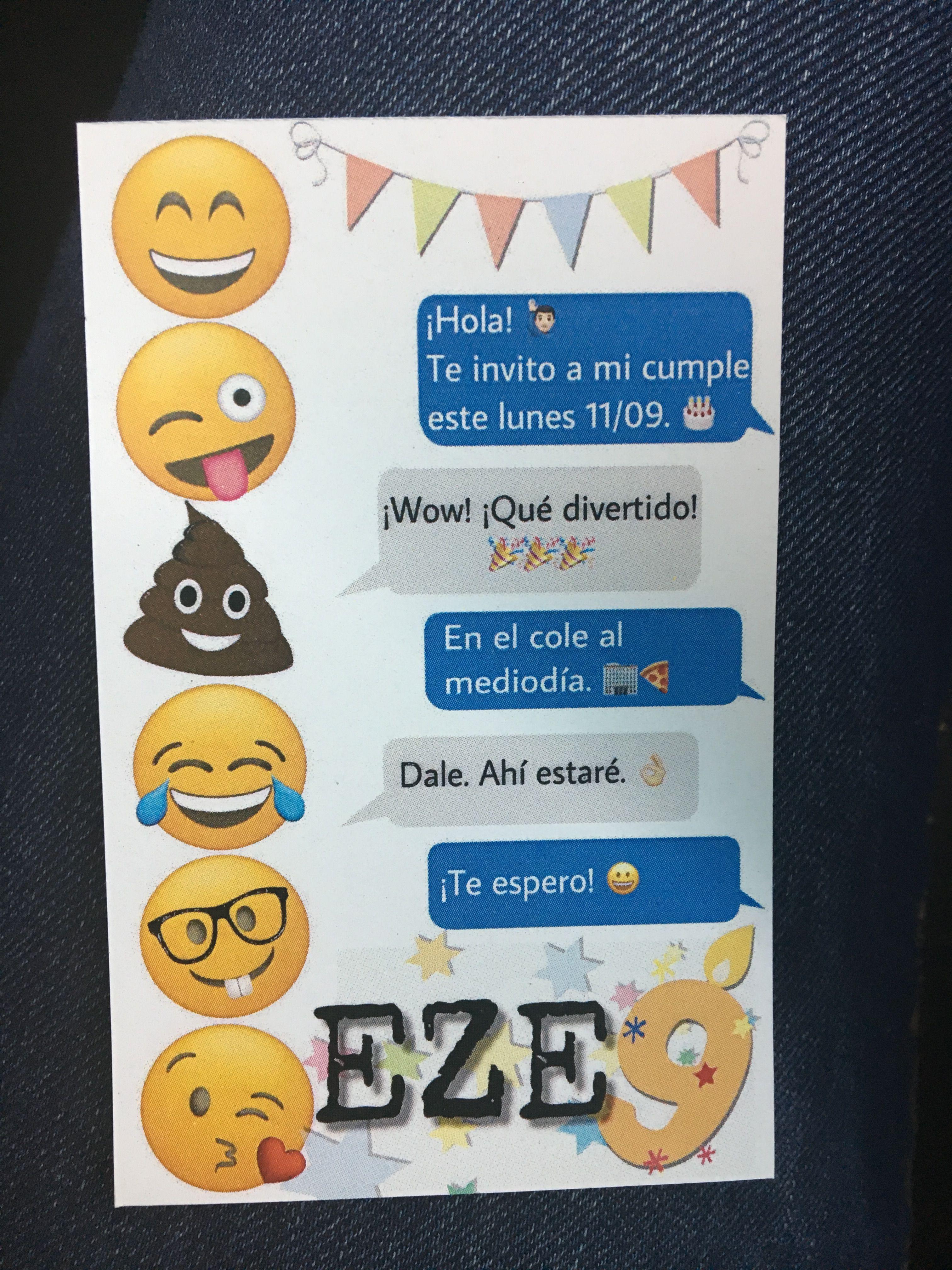 Emojis party