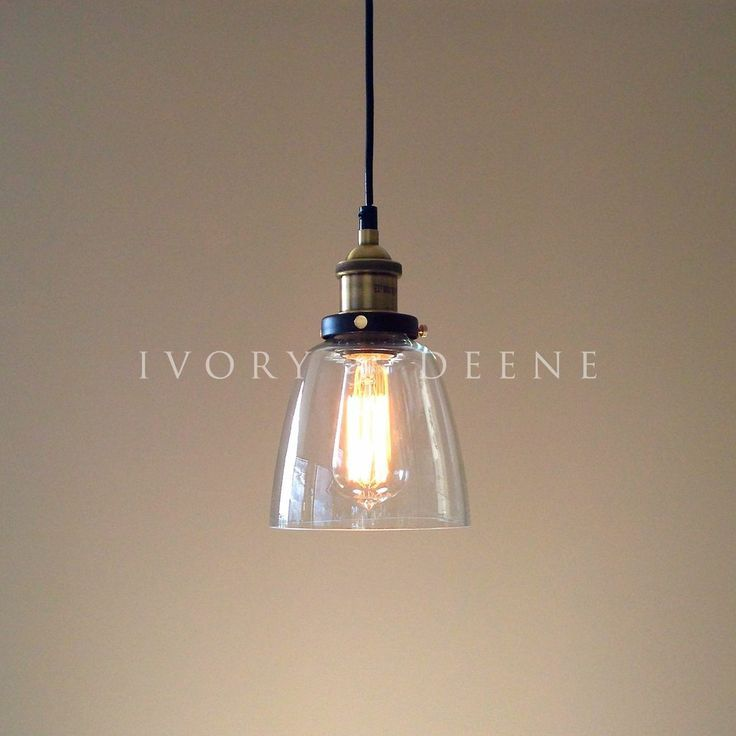 Image Result For Mini Glass Pendant Lights With A Rod Oiled Bronze Clear Glass Pendant Light Pendant Light Glass Pendant Light